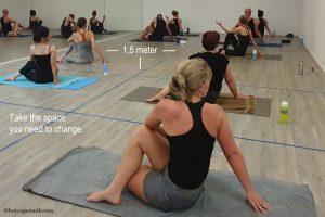 COVID maatregelen Hot Yoga Eindhoven