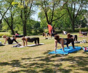Park class Hot Yoga Eindhoven